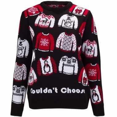Kersttrui could not choose voor dames