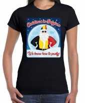 Fout belgie kerst shirt christmas in belgium zwart dames